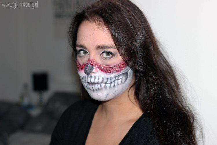 Halloween Gebruiken.Beauty Halloween Look 2015 Skull Girl Glambeauty